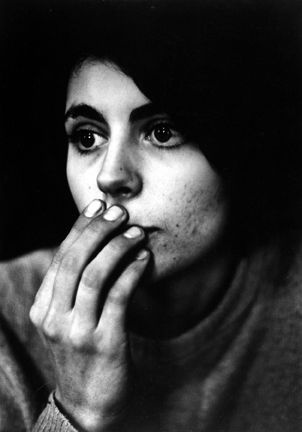 i want to know her story: Untitled (girl with hand on mouth) by Dave Heath 1960