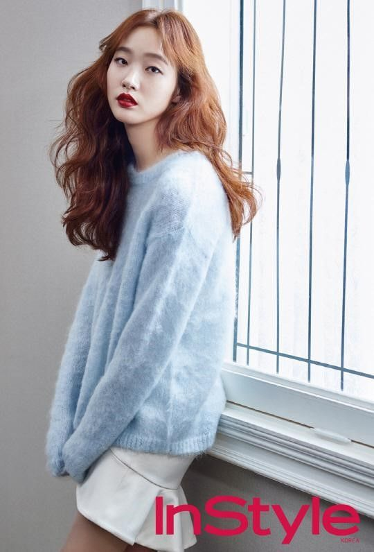 "Kim Go Eun de ""Cheese in the Trap"" para la revista ""InStyle"" - Soompi Spanish"