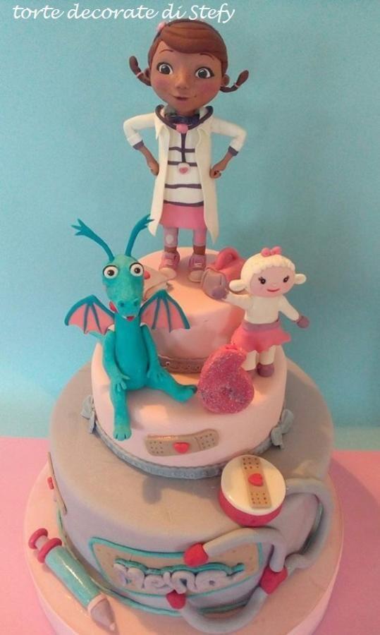 Doc McStuffins - dottoressa peluche - Cake by stefania