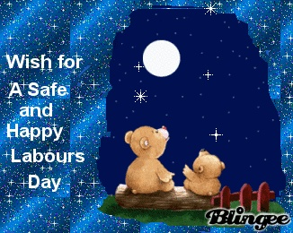 wish a safe & happy labours day  for all those enjoy <3