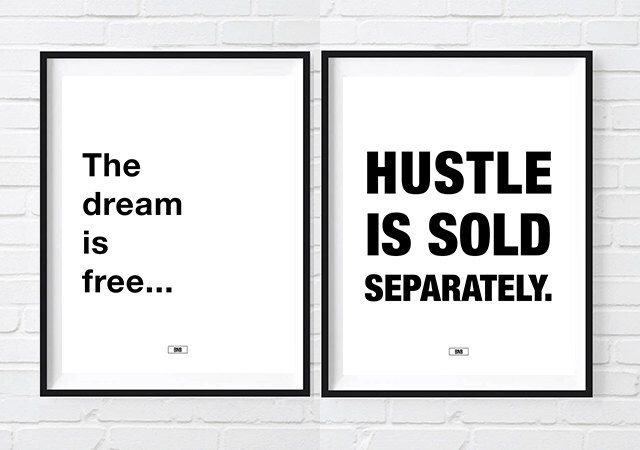 The Dream Is Free HUSTLE Is Sold Separately Print, Motivational Quote Poster, Cool Posters, New Job, Gift for Boss, Boss Babe, Boss lady by BuyNowBitches on Etsy https://www.etsy.com/listing/449298234/the-dream-is-free-hustle-is-sold