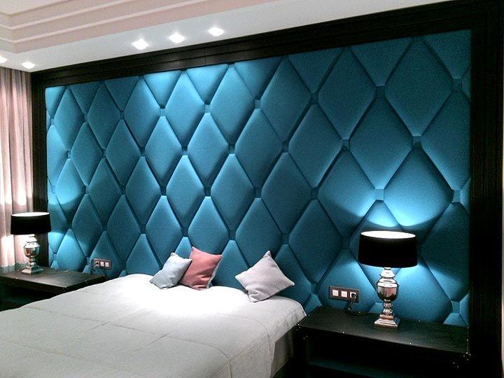 Мягкие стеновые панели в дизайне интерьера