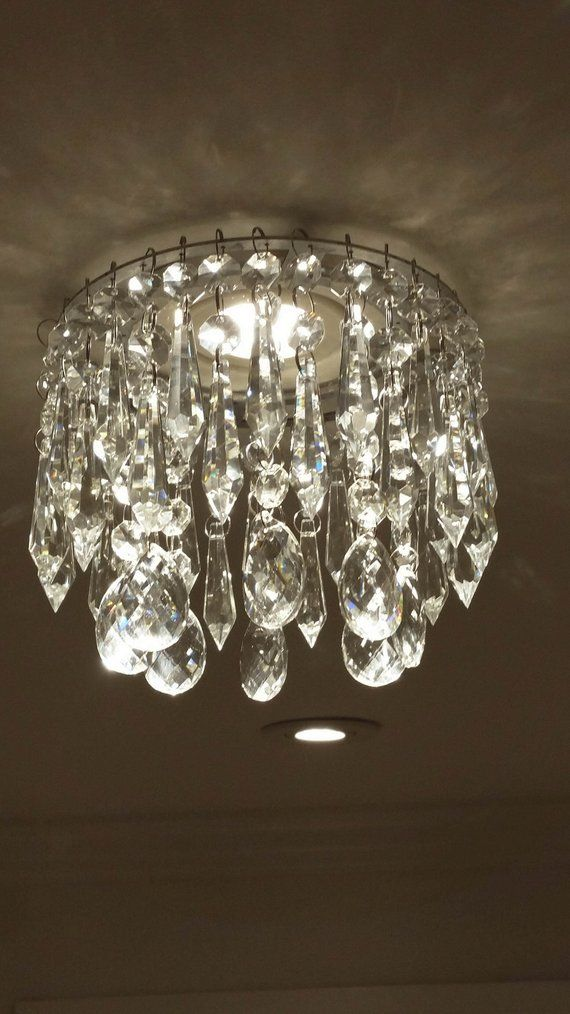 Luxe Crystal For Recessed Light With Magnet For Pot Light Etsy