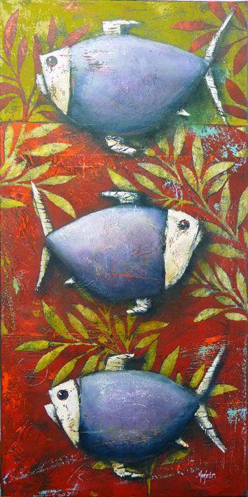 Pascal Merlet - Peces del fondo de hojas