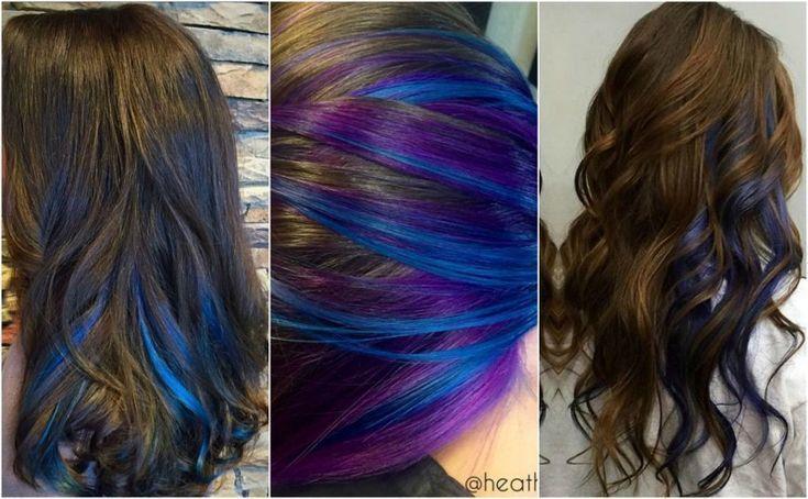 Wie Man Peekaboo Blaue Haare Bekommt Bekommt Haare Man Peekabooblaue Underlightshairbr Peekaboo Hair Colors Peekaboo Hair Blue Hair