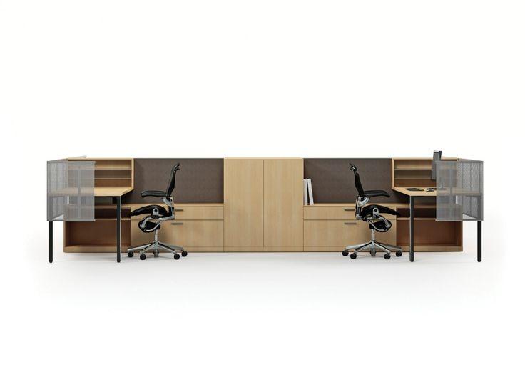 canvas office landscape herman miller atec original design - Herman Miller Tischsysteme