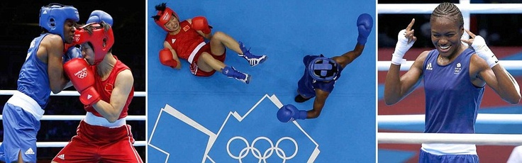 Girl power: Nicola Adams #Boxing