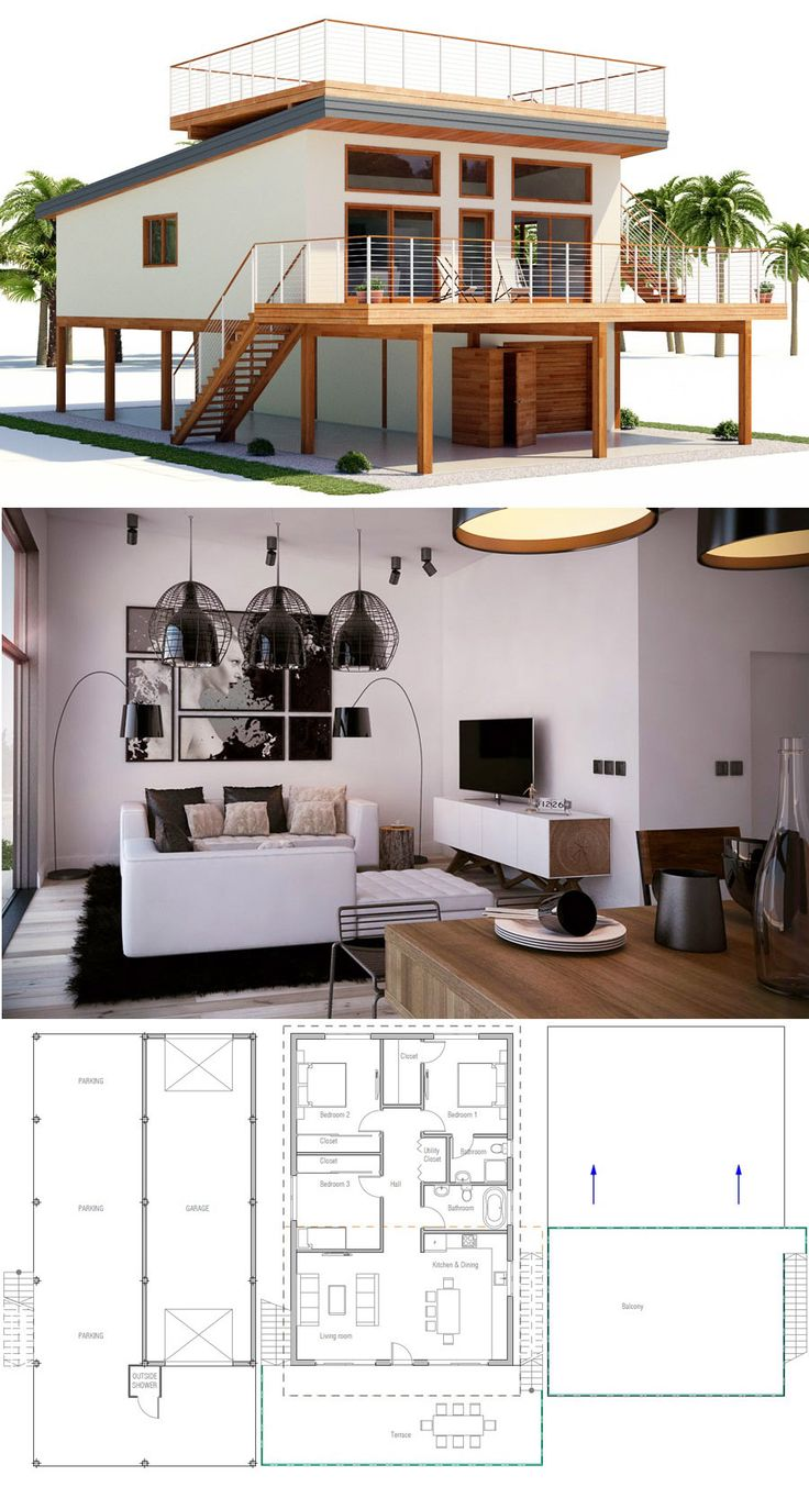 Architecture, Home Plans, House Plans, Floor Plans House Designs #homedecor #newhomes #homeplans #houseplans #concepthome #adhouseplans #archdaily #archilovers #dwell #housedesigns #modernhousedesign #beachhouse #coastalhouse