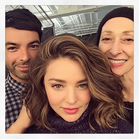 More on http://ift.tt/1j0av3Q // That's a wrap! Thank you @rmsbeauty @harryjoshhair by mirandakerr