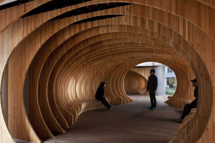 Rest Hole in the University of Seoul by UTAA   Yellowtrace