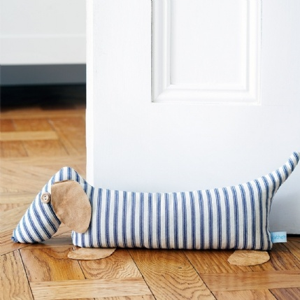 Living - NEW - Catherine Tough Lavender Dog Doorstop
