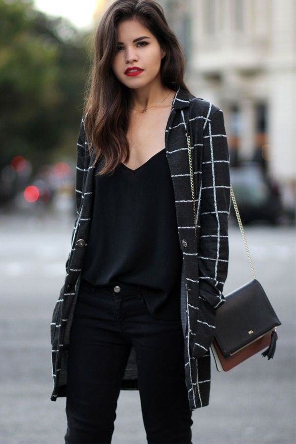 17 Best ideas about All Black Outfit on Pinterest | Black outfits Womenu0026#39;s all black outfits and ...