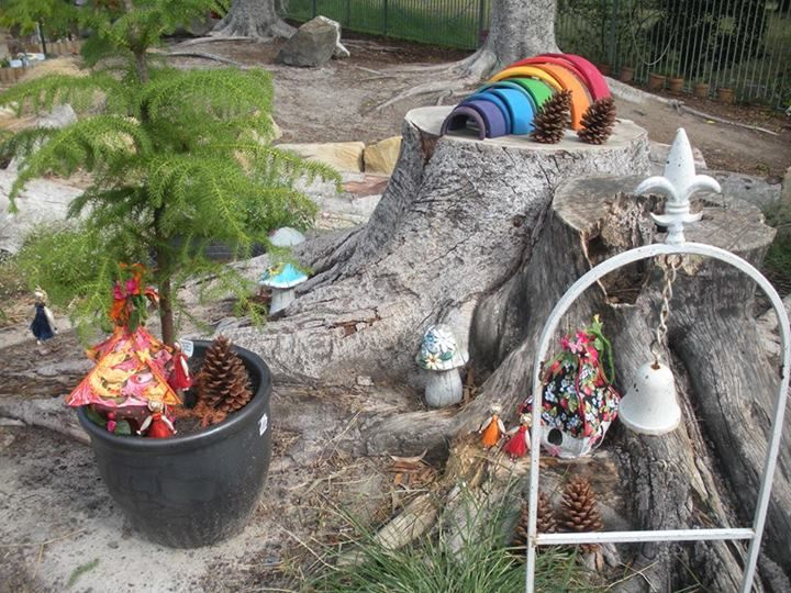 """Fairy garden at Karana Early Education Centre ("""",)"""