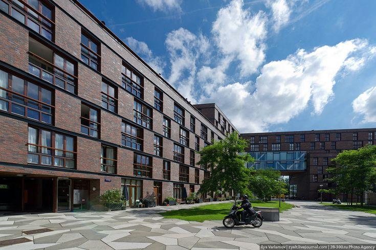 Квартал Фуненпарк в Амстердаме – Varlamov.ru