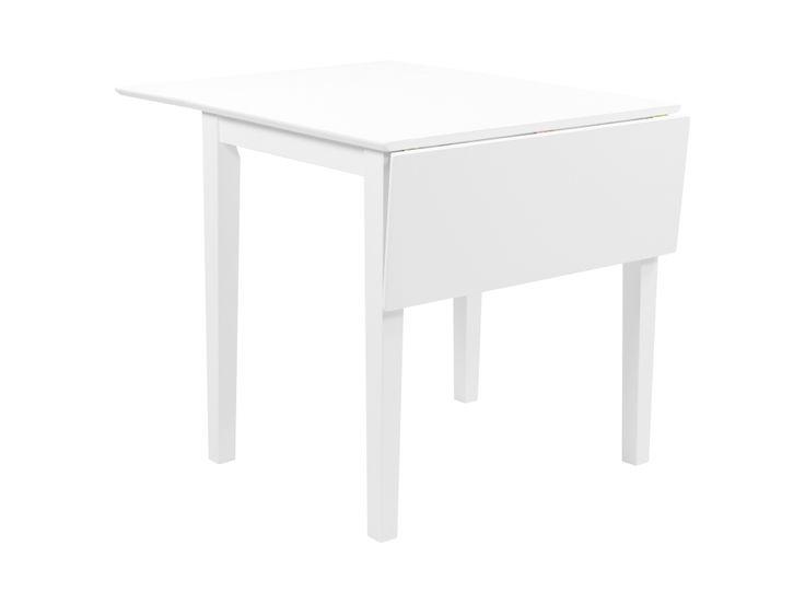 LILY Förlängningsbart Bord 62 Vit i gruppen Inomhus / Bord / Matbord hos Furniturebox (100-18-13170)