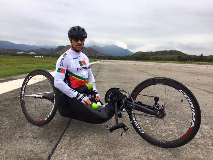 Estivemos à conversa com Luis Costa - Paraciclista que corre amanhã nos jogos Paralímpicos do Rio em ciclismo de estrada, classe H5