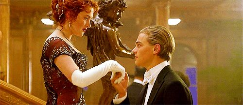 Pin for Later: 45 Titanic Moments So Magical Your Heart Can't Even Go On When He Sweetly Kisses Her Hand