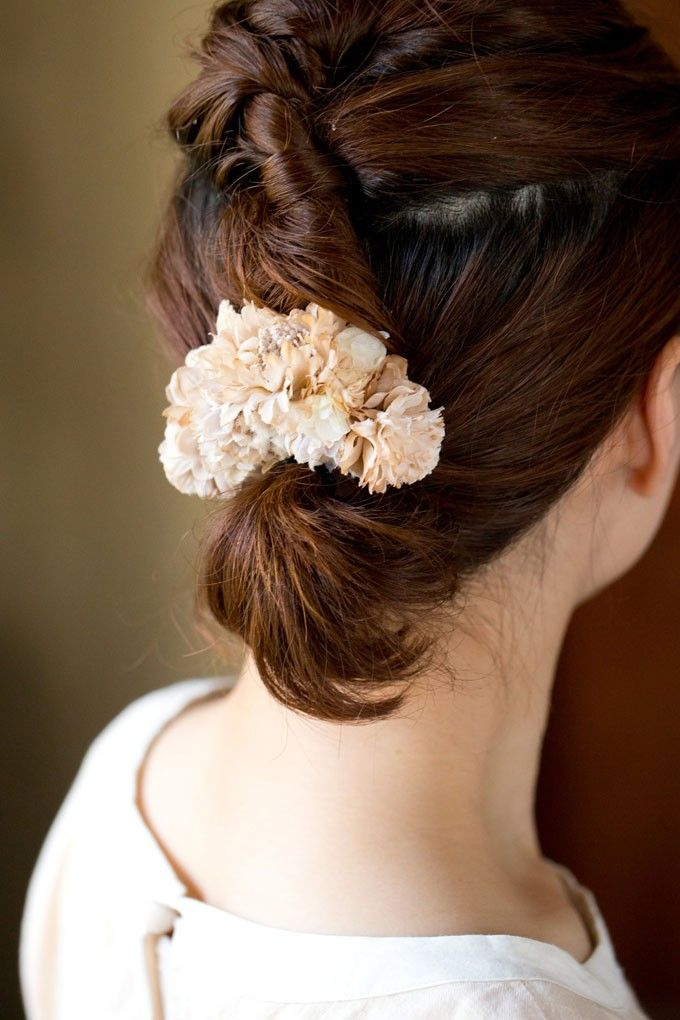 Eco Hair Pin or Corsage