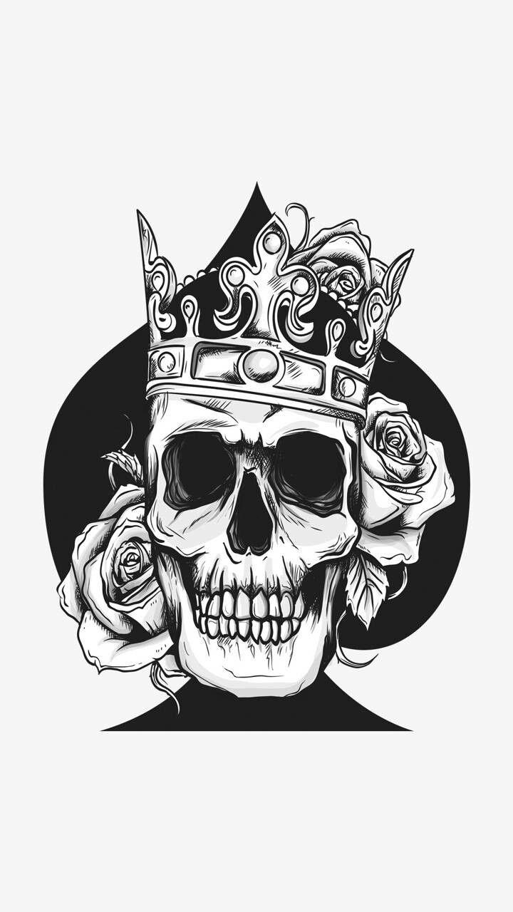 Pin De Arnold Johnson En Tattoos Aj Corona Dibujo Tatuajes En