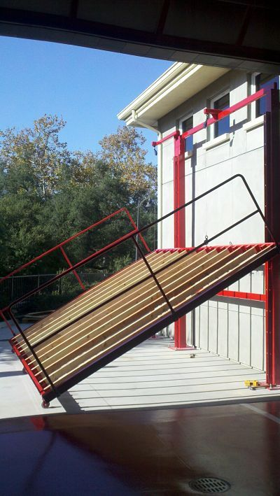 Roof Ventilation Training Prop with adjustable pitch