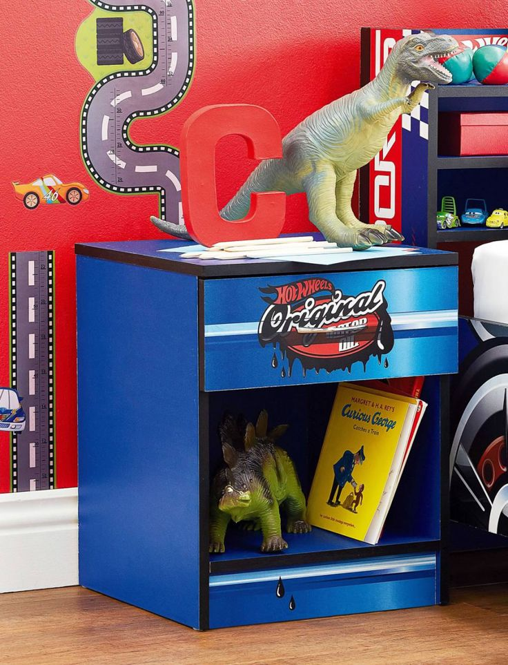 Hot Wheels Bedside by Nero Furniture from Harvey Norman NewZealand