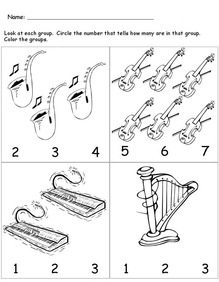 Musical instruments worksheet for kids | Crafts and ...