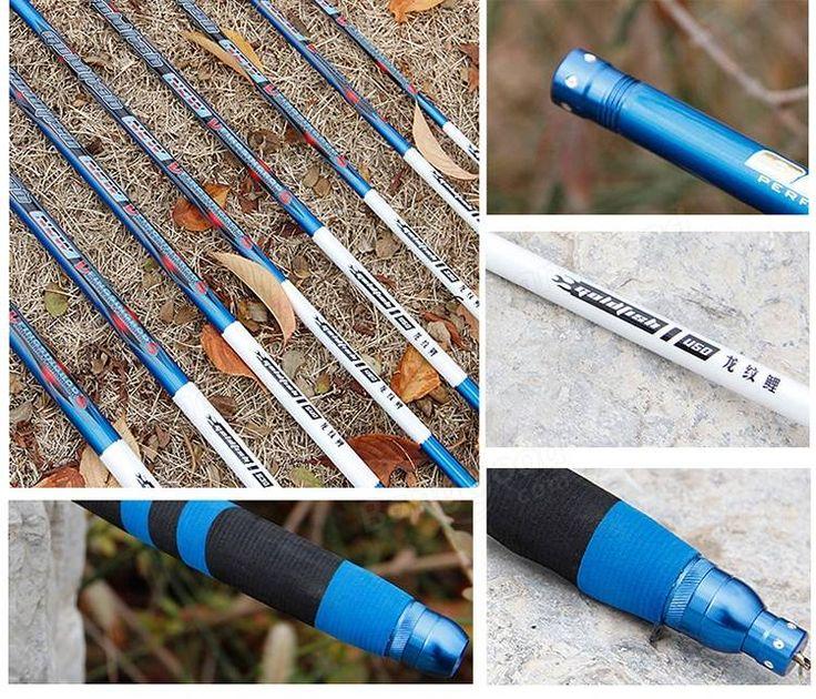 ZANLURE LW-01 Full Carbon Fiber Ultra-light Ultra Hard 28 Stream Hand Pole Taiwan Fishing Rod