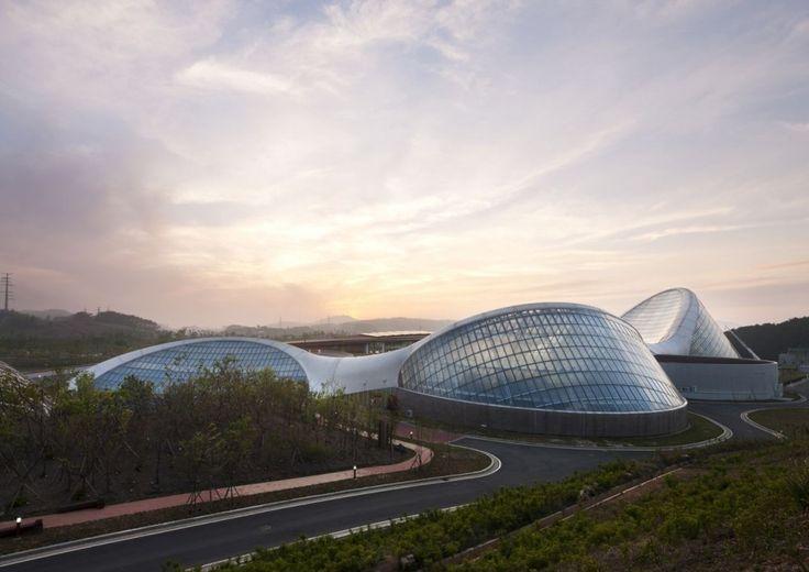 Ecorium of the National Ecological Institute / Samoo Architects  Engineers + Grimshaw Architects