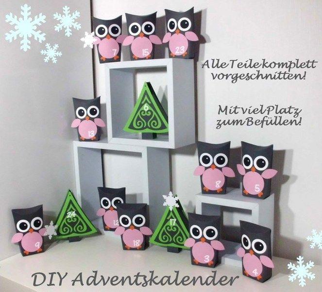 Adventskalender Eulen von bonaparte Accessoires & More auf DaWanda.com