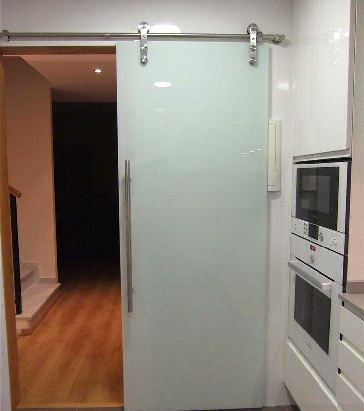 19 genial puerta corredera para cocina fotos puertas - Sistema puerta corredera ...