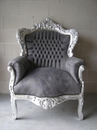 Barok Zilver - Grijs