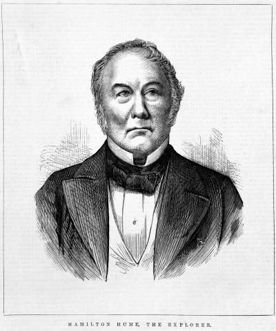 Hamilton Hume, with William Hovell came from Yass in NSW  and discovered good grazing land in Corio Bay Victoria in 1824