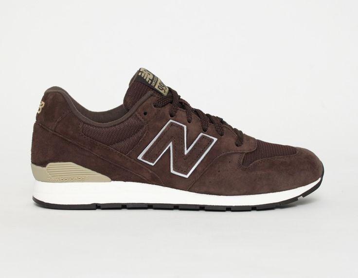 #NewBalance 996 Revlite Brown