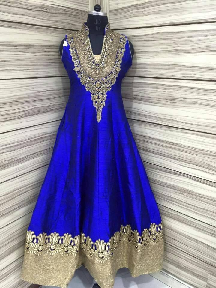 Exclusive Raw silk designer Semi stitched Sal wars | Buy Online salwars | Elegant Fashion Wear Price;3900 #rawsilk #blue #designer #saree