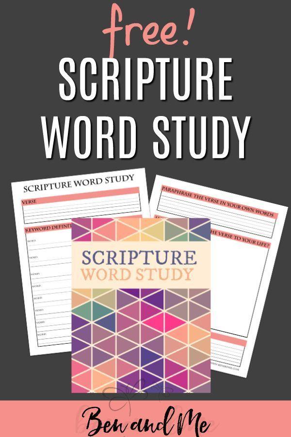 Free Printable Bible Study Tool For Kids Bible Study Printables Word Study Bible Study Tools