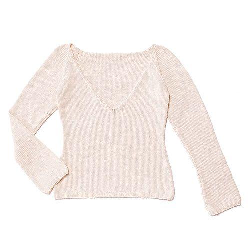white wool knit sweater pattern