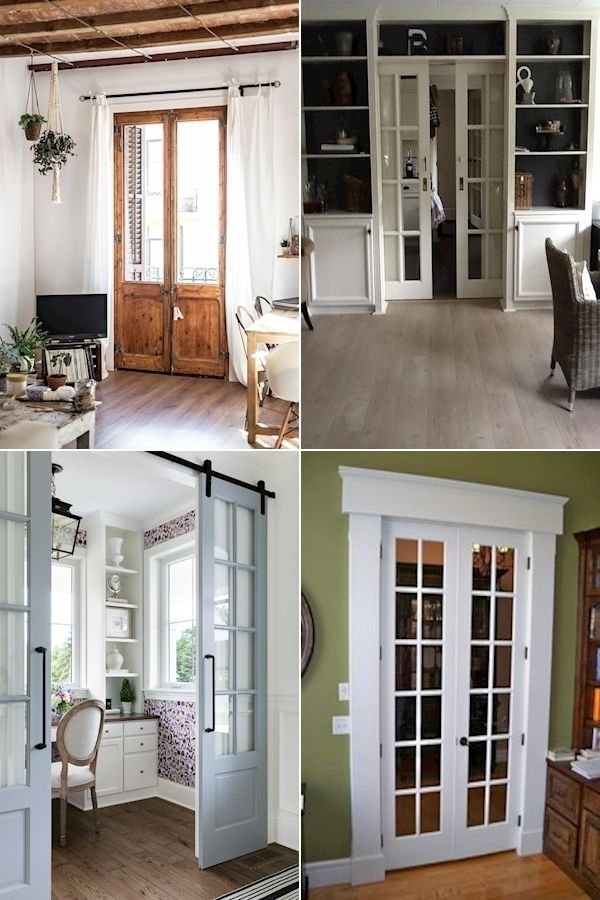 White French Doors Interior Solid Core Interior Doors Closet