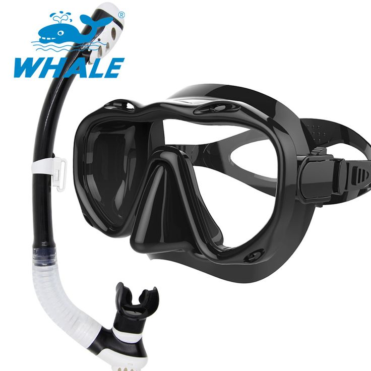 New arrival diving mask snorkel set professional spearfishing gear Scuba Diving Equipment Dive Mask + Dry Snorkel Set