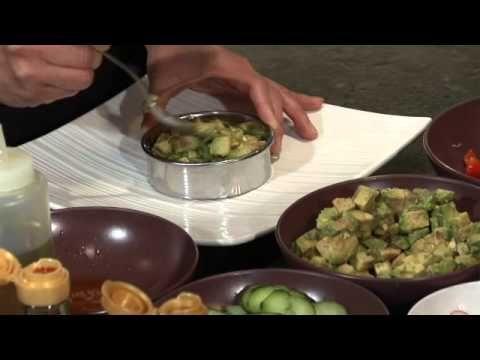 Recette tartare de crudités à la sauce japonaise