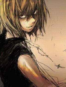 Fan Art of Mello (Mihael Kheel) for fans of Death Note.