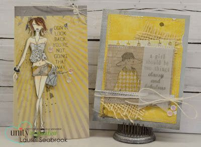 Seabrook Designs: Girl themed cards
