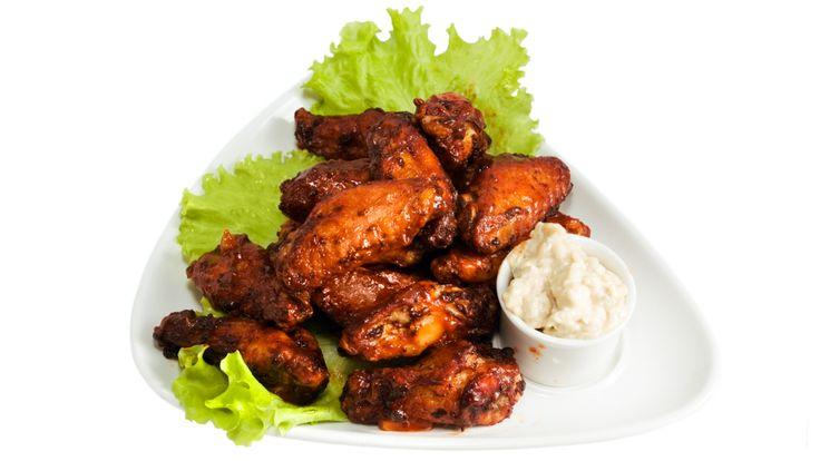 Ailes de poulet sucrées et épicées