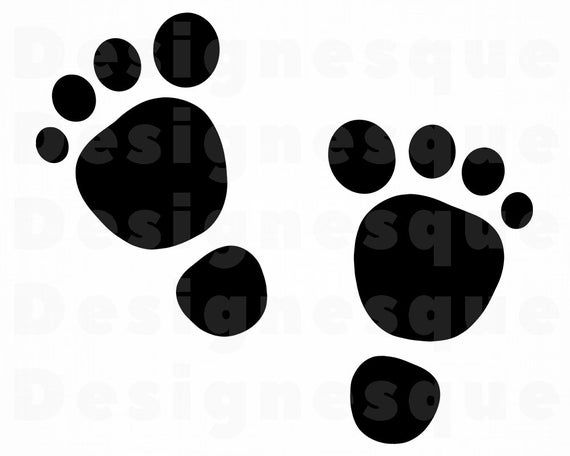 Baby Footsteps Svg Baby Footprints Svg Baby Footprints Etsy Baby Footprints Svg Baby Svg