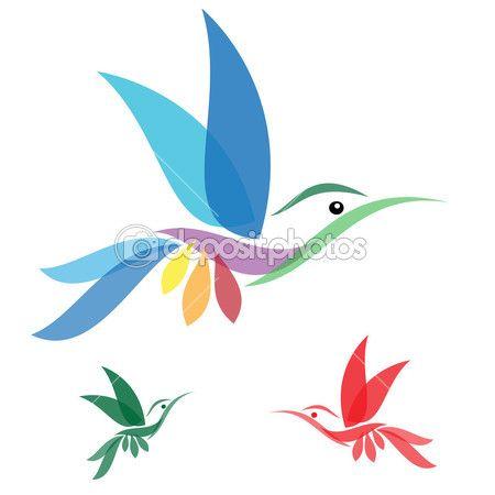 Векторное изображение колибри — стоковая иллюстрация #30177493