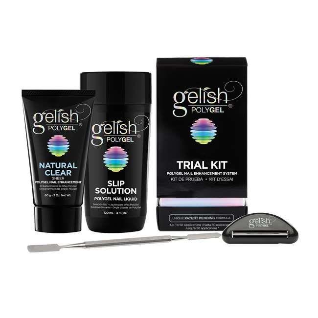 Gelish Polygel Professional Nail Technician Enhancement Trial Kit 1720001 Trialkit Nail Enhancement Gelish Polygel Hard Gel