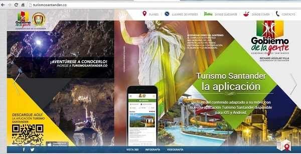 Santander hoy web: Portal web para promocionar el turismo en el depar...
