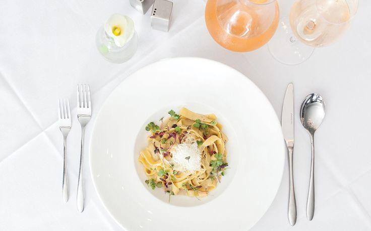 Mr. G's Bistro: Pasta gets love at Balboa Island's new Italian - Orange Coast magazine. June 2017 dining review. Photo by Priscilla Iezzi.