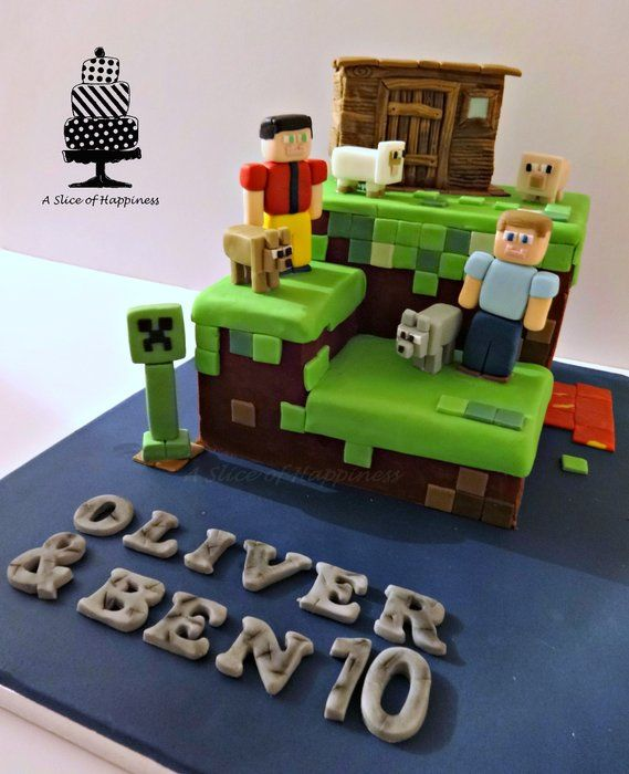 Decorating Ideas > 45 Best Images About Minecraft 7th Birthday Party Ideas On  ~ 024119_Cake Decorating Ideas Minecraft
