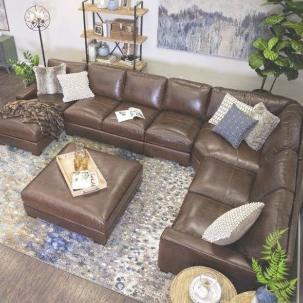 100 Top Grain Leather All Over Dream Like Plush Comfort Deep Seating Per Brown Couch Living Room Leather Couches Living Room Leather Sectional Living Room