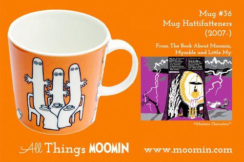 Moomin.com - Moomin mug Hattifatternes / Hattifnattene